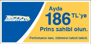 Ayda 186 TL'ye Prins Sahibi Olun